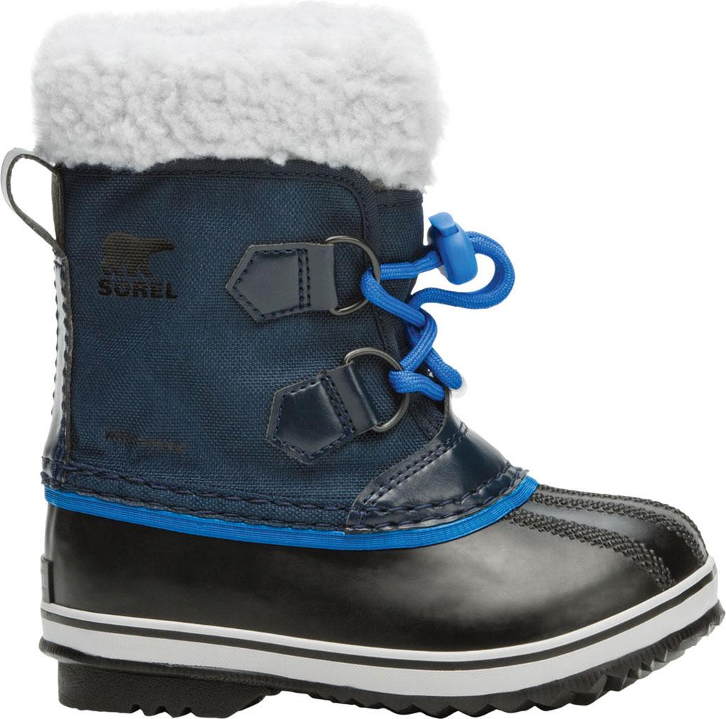 Children's Sorel Kids' Yoot Pac Nylon Boot, Collegiate Navy Nylon, large, image 2