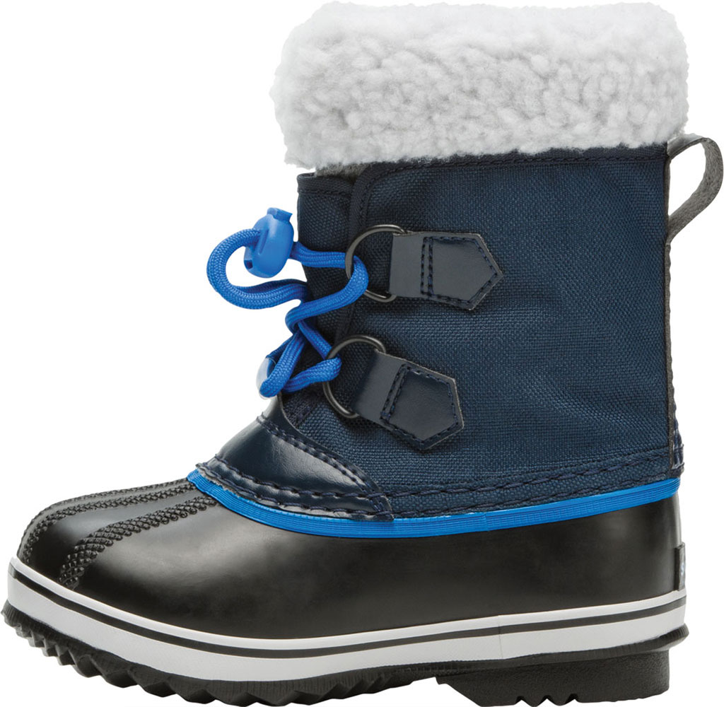 Children's Sorel Kids' Yoot Pac Nylon Boot, Collegiate Navy Nylon, large, image 3