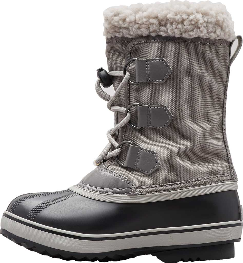 Children's Sorel Kids' Yoot Pac Nylon Boot, Quarry/Dove Nylon, large, image 3
