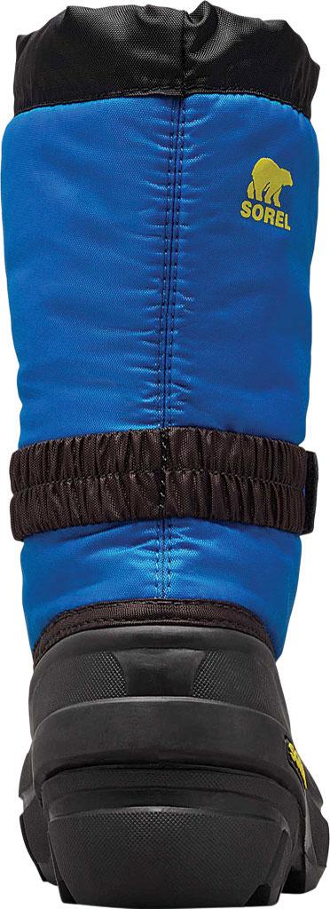 Children's Sorel Kids' Flurry Boot, Black/Super Blue Synthetic/Textile, large, image 4
