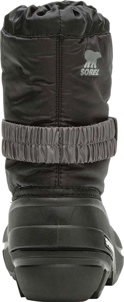 Children's Sorel Kids' Flurry Boot, Black/City Grey Synthetic/Textile, large, image 4