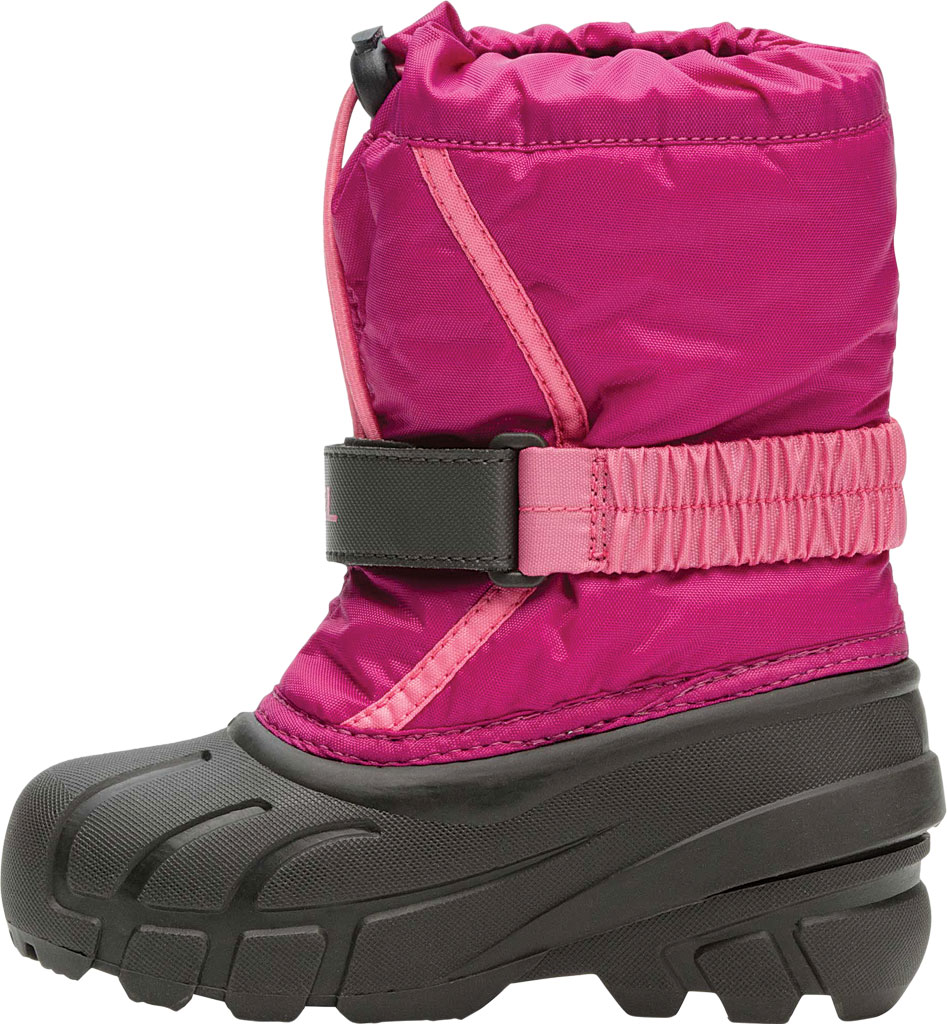 Children's Sorel Kids' Flurry Boot, Deep Blush/Tropic Pink Synthetic/Textile, large, image 3