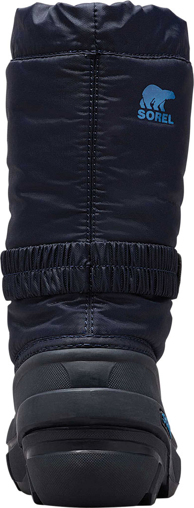 Children's Sorel Kids' Flurry Boot, Collegiate Navy/Atmosphere Synthetic/Textile, large, image 4