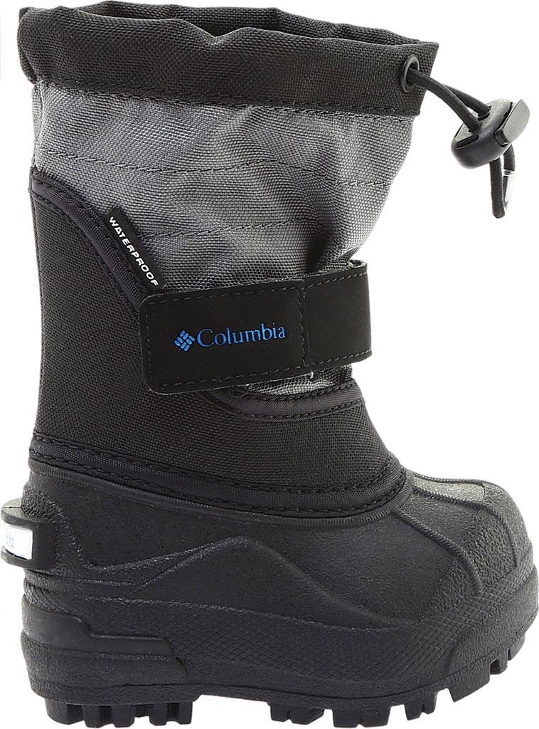 Infant Columbia Powderbug Plus II Boot, Black/Hyper Blue, large, image 2