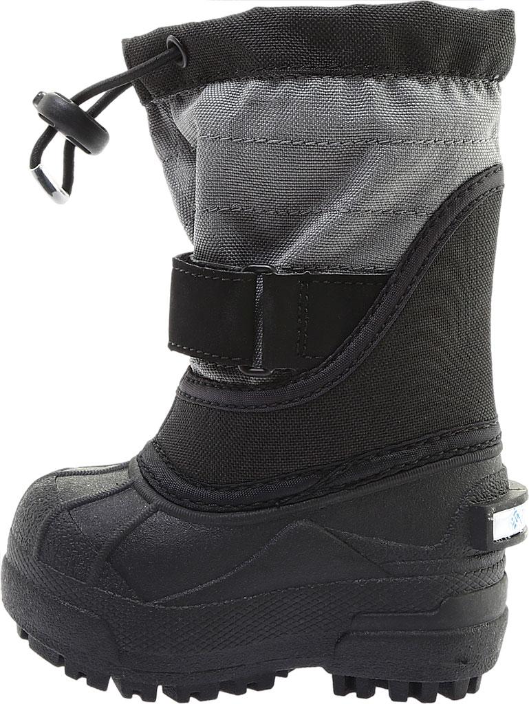 Infant Columbia Powderbug Plus II Boot, Black/Hyper Blue, large, image 3