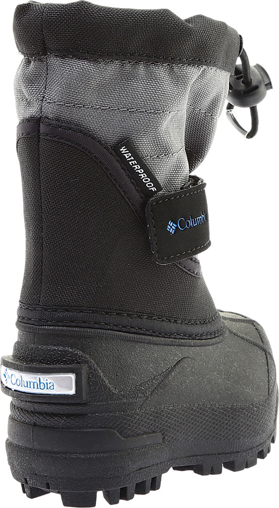 Infant Columbia Powderbug Plus II Boot, Black/Hyper Blue, large, image 4
