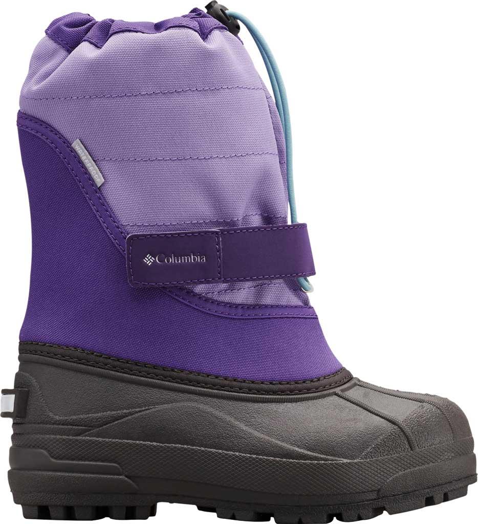 Children's Columbia Powderbug Plus II Boot, Emperor/Paisley Purple, large, image 2