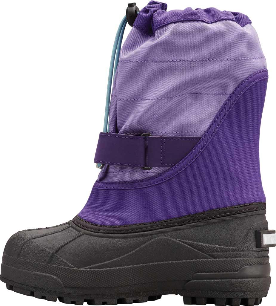 Children's Columbia Powderbug Plus II Boot, Emperor/Paisley Purple, large, image 3