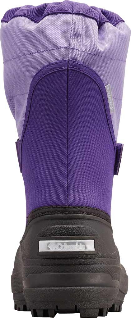 Children's Columbia Powderbug Plus II Boot, Emperor/Paisley Purple, large, image 4
