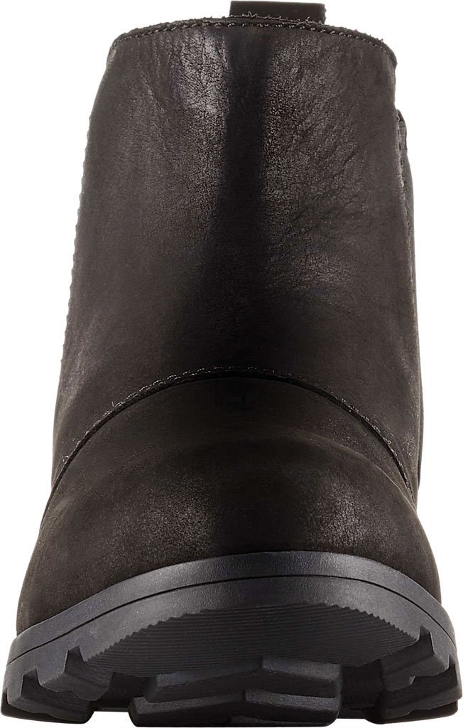 Women's Sorel Emelie Chelsea Bootie, Black/Black Full Grain Leather, large, image 3