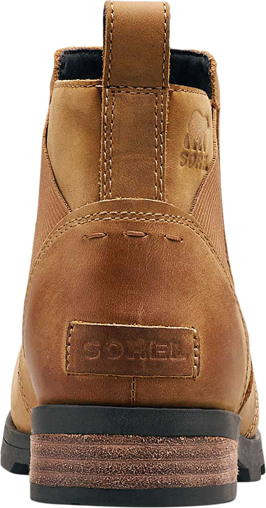 Women's Sorel Emelie Chelsea Bootie, Camel Brown Full Grain Leather, large, image 4