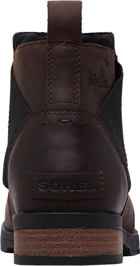 Women's Sorel Emelie Chelsea Bootie, Cattail Waterproof Leather, large, image 3