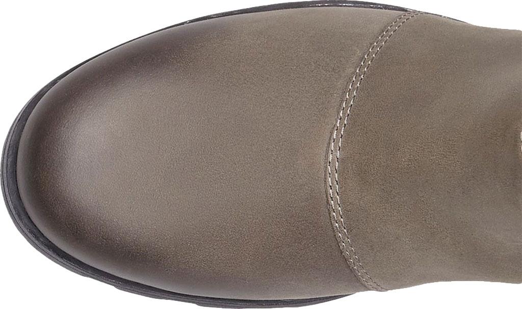 Women's Sorel Emelie Chelsea Bootie, Quarry/Black Waterproof Leather, large, image 4