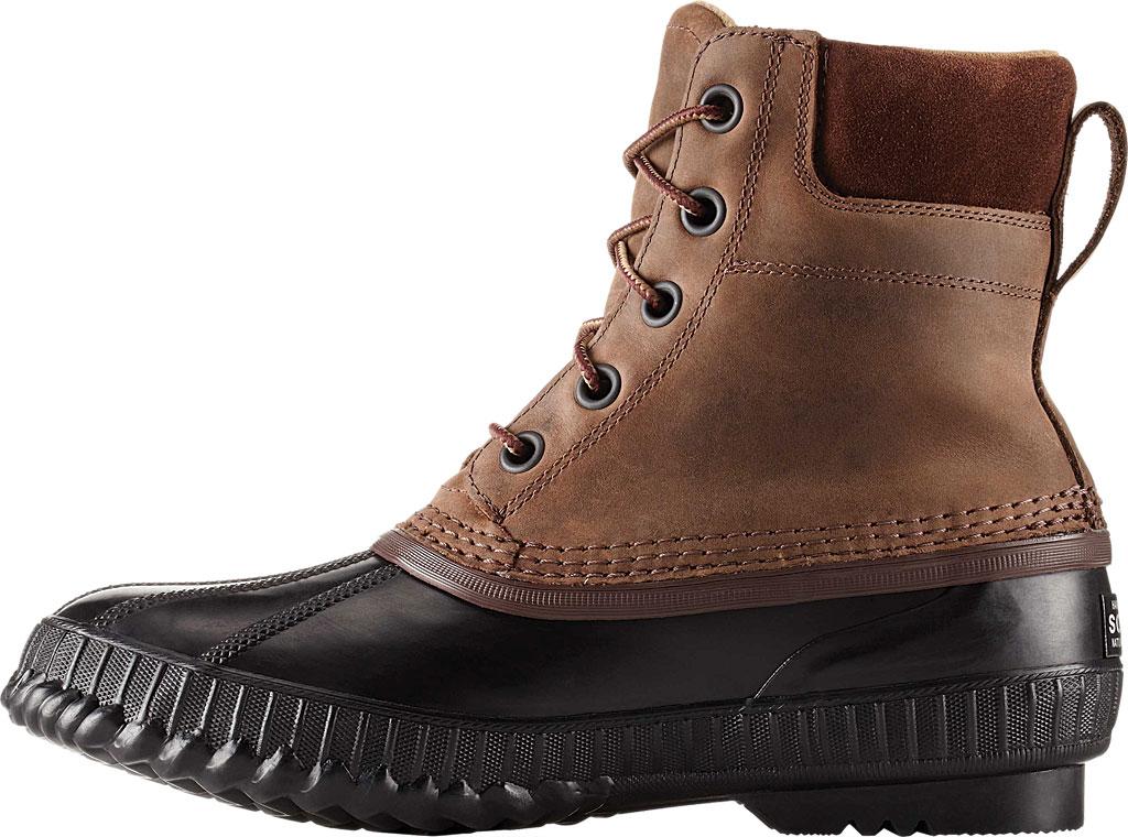 Men's Sorel Cheyanne II Lace Snow Boot, Tobacco/Black Full Grain Leather, large, image 2
