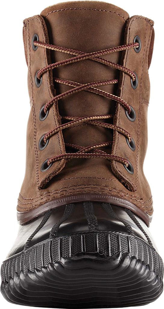Men's Sorel Cheyanne II Lace Snow Boot, Tobacco/Black Full Grain Leather, large, image 3