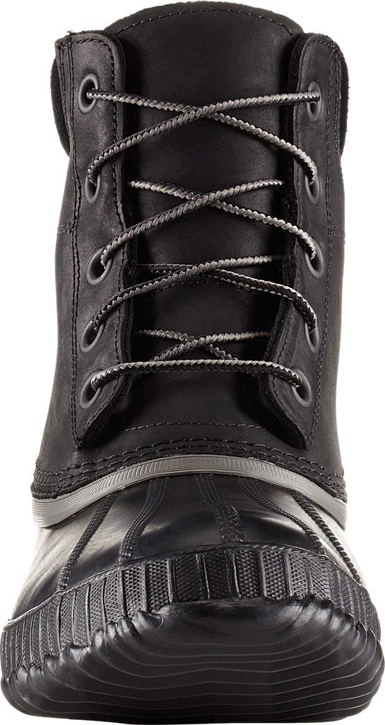 Men's Sorel Cheyanne II Lace Snow Boot, Black/Black Full Grain Leather, large, image 3