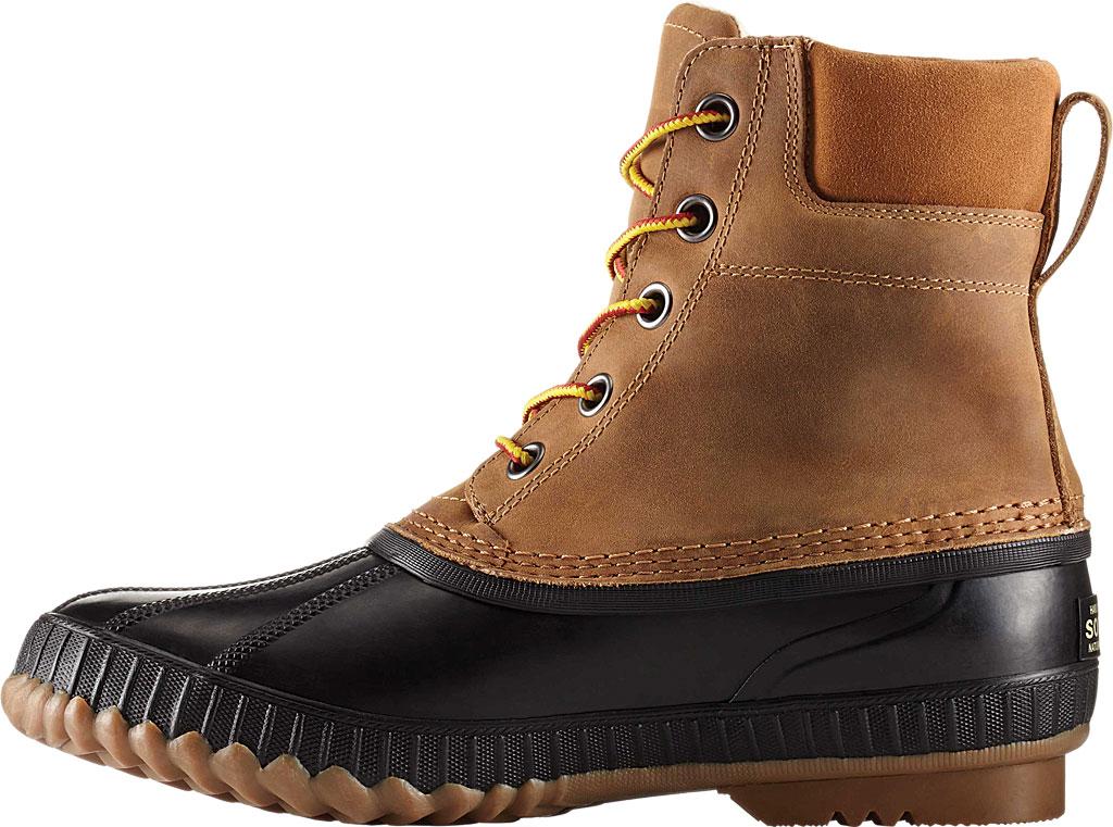 Men's Sorel Cheyanne II Lace Snow Boot, Chipmunk/Black Full Grain Leather, large, image 2