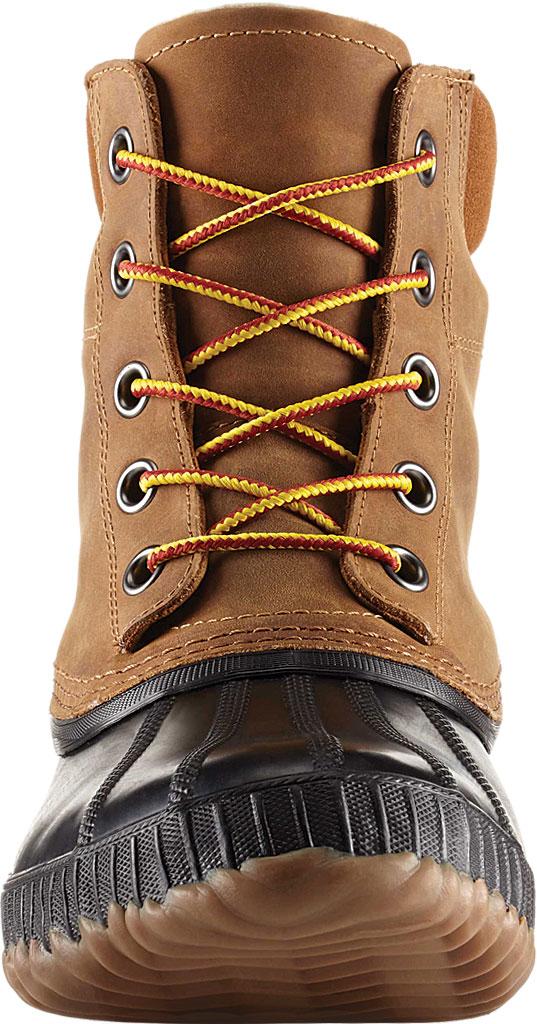 Men's Sorel Cheyanne II Lace Snow Boot, Chipmunk/Black Full Grain Leather, large, image 3