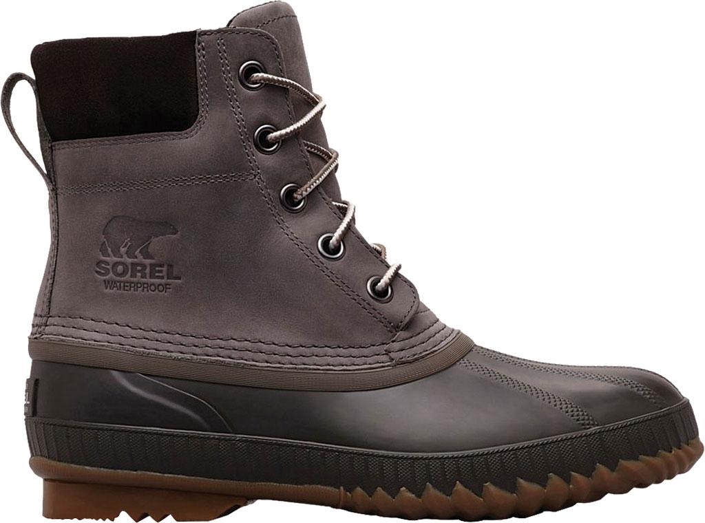 Men's Sorel Cheyanne II Lace Snow Boot, Quarry/Buffalo Full Grain Leather, large, image 2