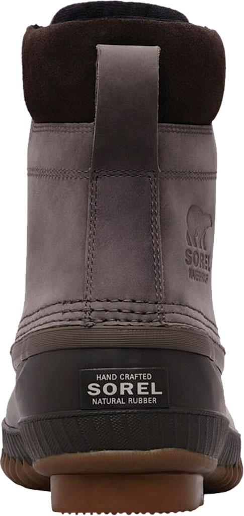 Men's Sorel Cheyanne II Lace Snow Boot, Quarry/Buffalo Full Grain Leather, large, image 3