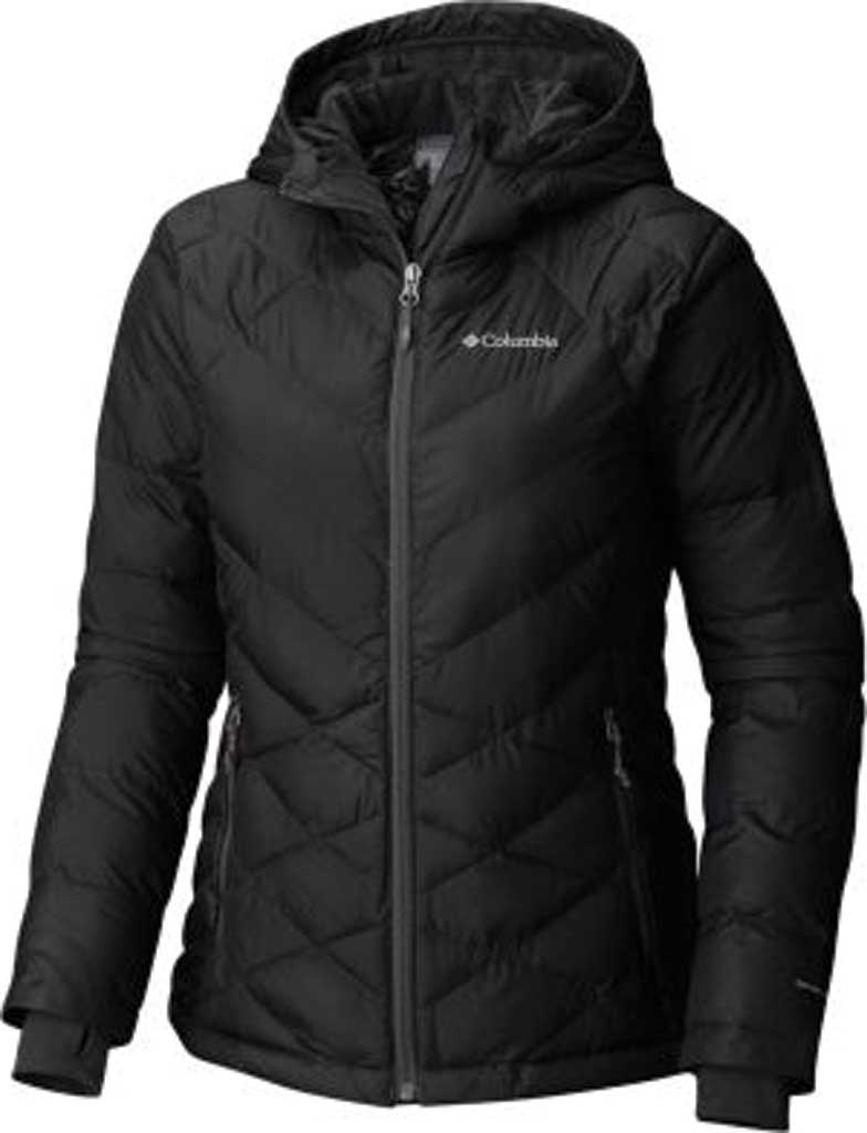 Women's Columbia Heavenly Hooded Jacket, Black, large, image 1