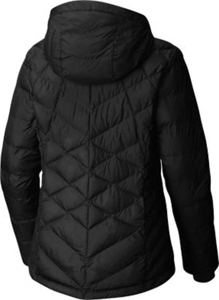 Women's Columbia Heavenly Hooded Jacket, Black, large, image 2