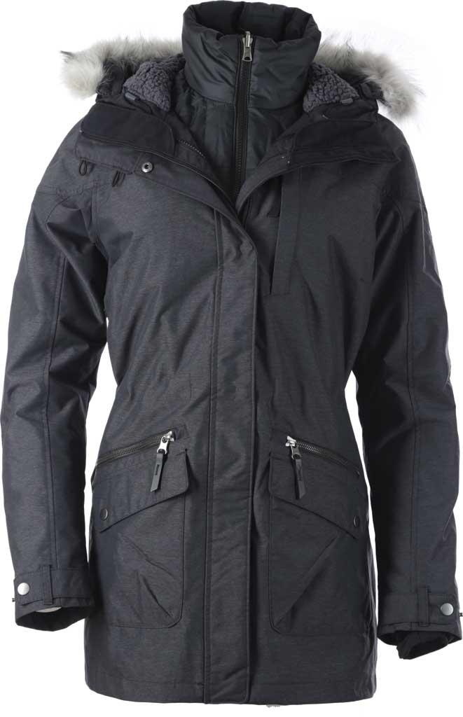 Women's Columbia Carson Pass Interchange Jacket, Black, large, image 1