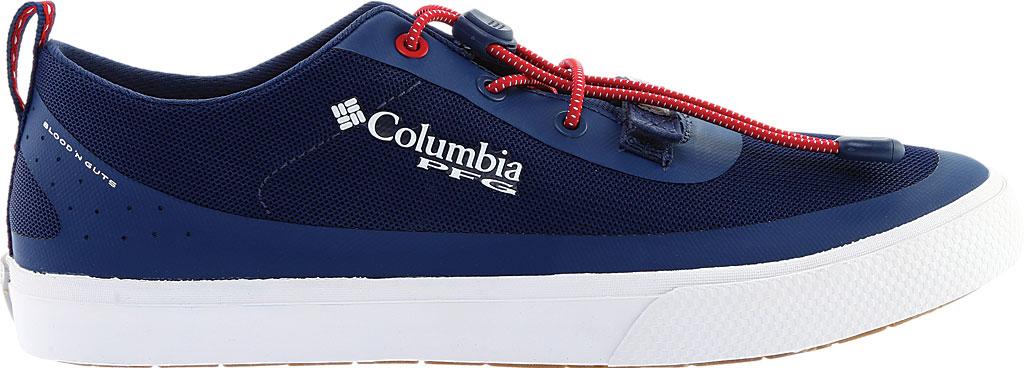 Men's Columbia Dorado CVO PFG Waterproof Sneaker, Carbon/Intense Red, large, image 2