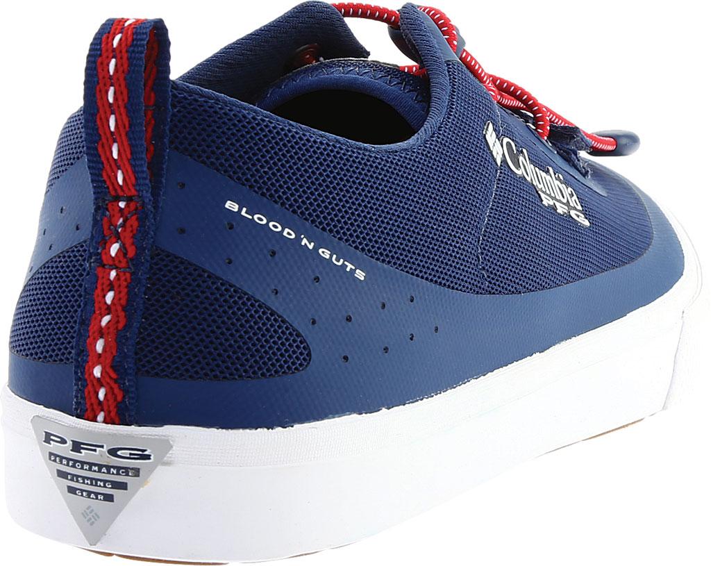 Men's Columbia Dorado CVO PFG Waterproof Sneaker, Carbon/Intense Red, large, image 4
