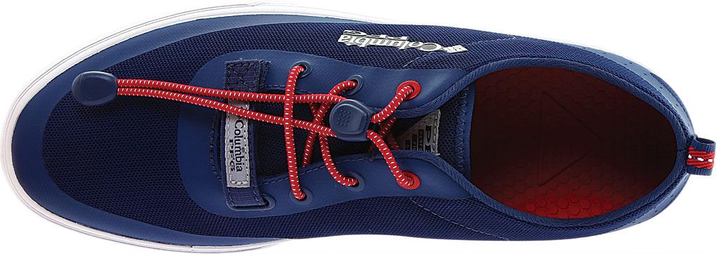 Men's Columbia Dorado CVO PFG Waterproof Sneaker, Carbon/Intense Red, large, image 5