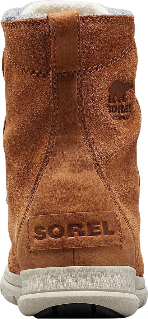 Women's Sorel Explorer Joan Boot, Camel Brown Full Grain Leather/Textile, large, image 4