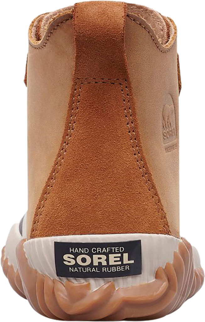 Children's Sorel Youth Out N About Plus Boot, Elk/Black Waterproof Leather, large, image 3