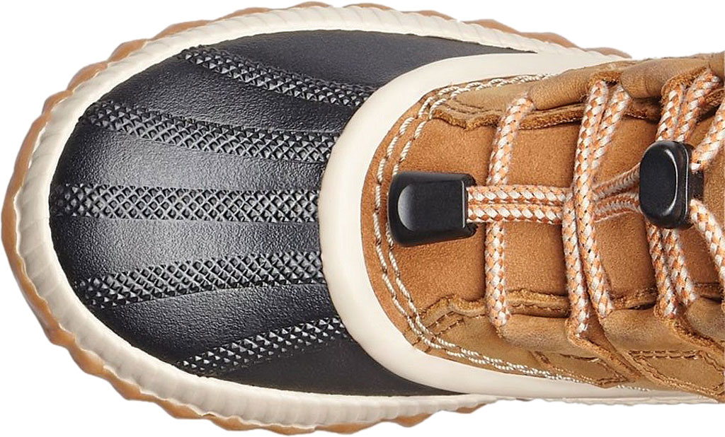 Children's Sorel Youth Out N About Plus Boot, Elk/Black Waterproof Leather, large, image 4