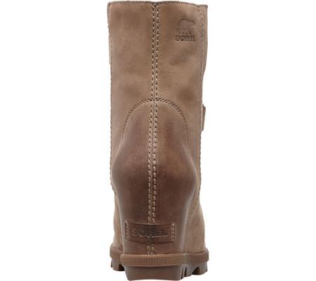 Women's Sorel Joan Of Arctic Wedge II Ankle Boot, Ash Brown Waterproof Leather, large, image 3