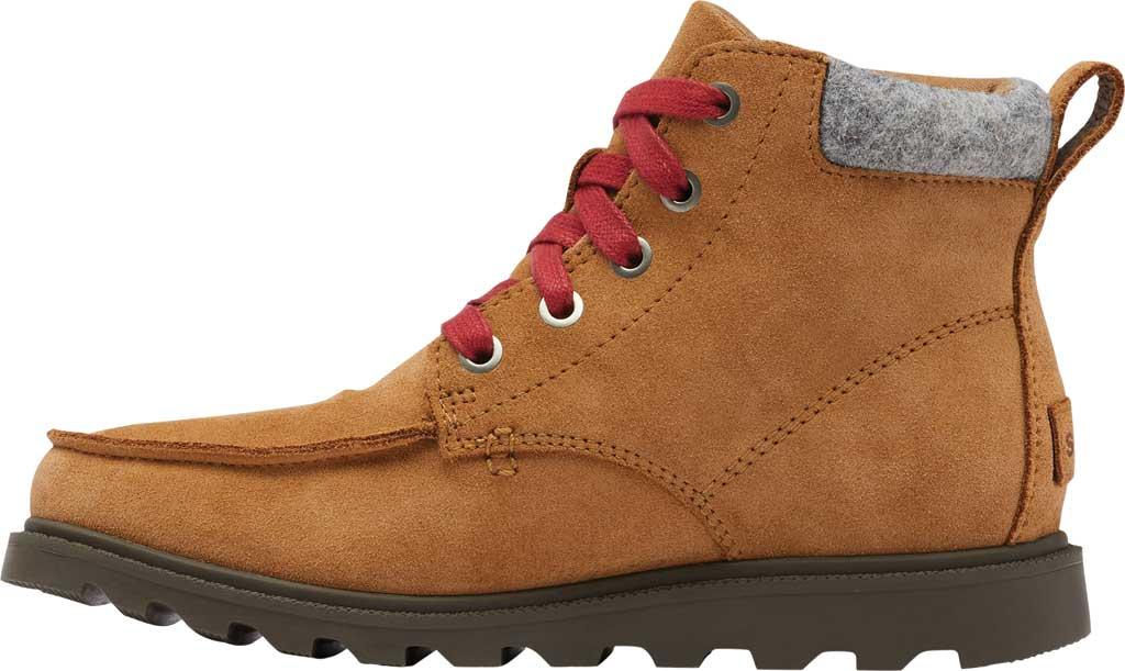 Boys' Sorel Youth Madson Moc Toe Waterproof Boot, Elk Waterproof Suede/Felt, large, image 3