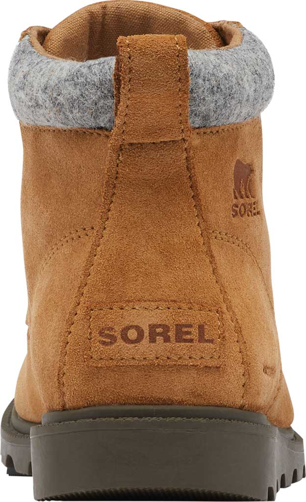 Boys' Sorel Youth Madson Moc Toe Waterproof Boot, Elk Waterproof Suede/Felt, large, image 4