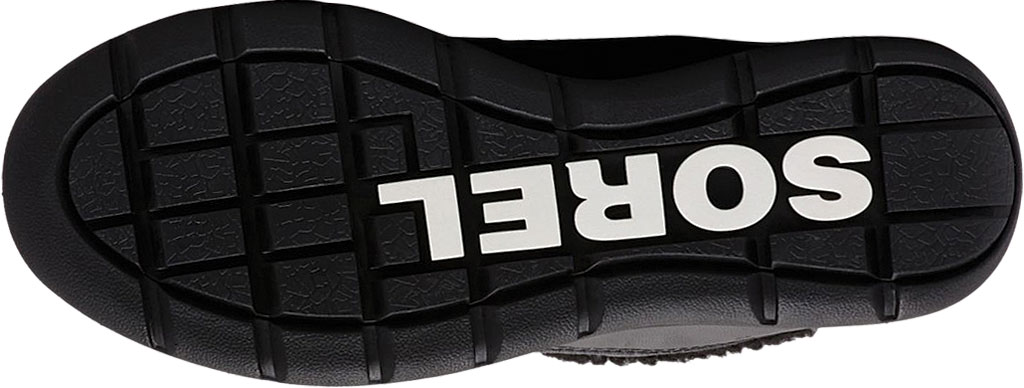 Women's Sorel Explorer Carnival Boot, Black/Sea Salt Waterproof Nylon, large, image 5