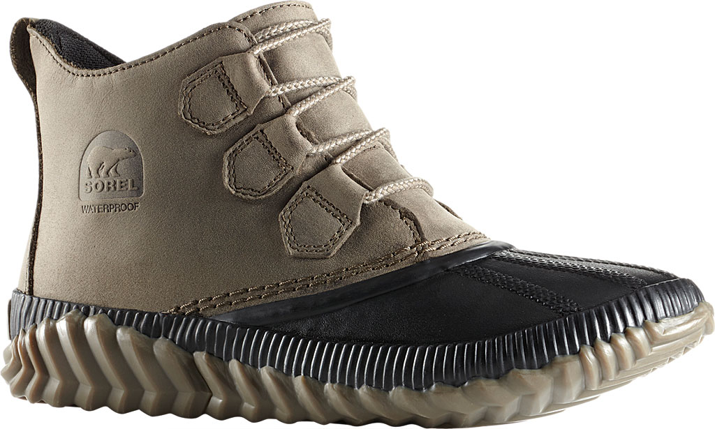 Women's Sorel Out N About Plus Bootie, Major Waterproof Full Grain Leather, large, image 1