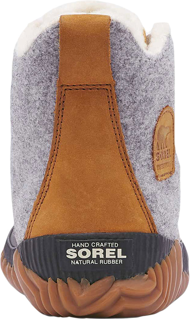 Women's Sorel Out N About Plus Bootie, Quarry Waterproof Leather/Felt/Faux Shearling, large, image 4