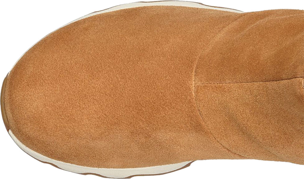 Women's Sorel Kinetic Short Boot, Camel Brown/Natural Waterproof Suede, large, image 4