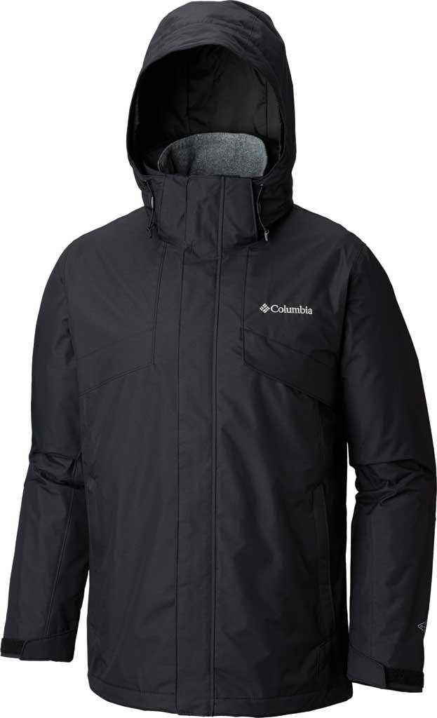 Men's Columbia Bugaboo II Fleece Interchange Jacket, Black, large, image 1
