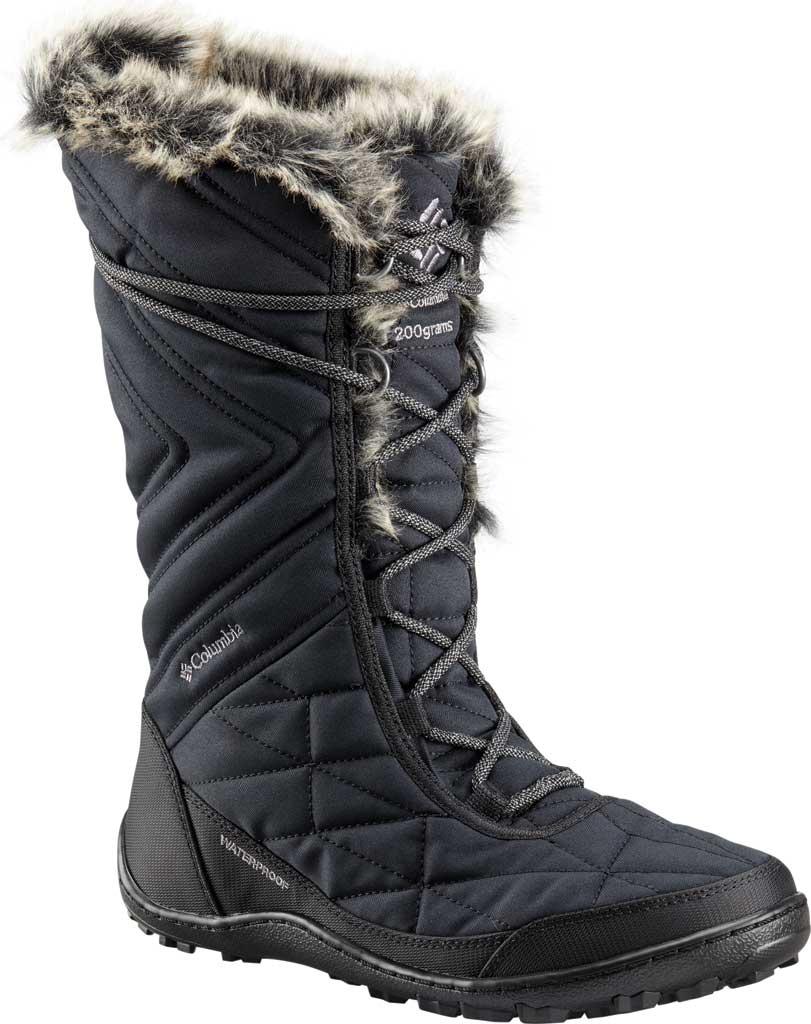 Women's Columbia Minx Mid III Boot, Black/Ti Grey Steel, large, image 1