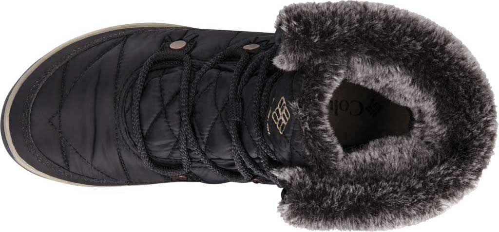 Women's Columbia Heavenly Shorty Omni-Heat Boot, Black/Kettle, large, image 2