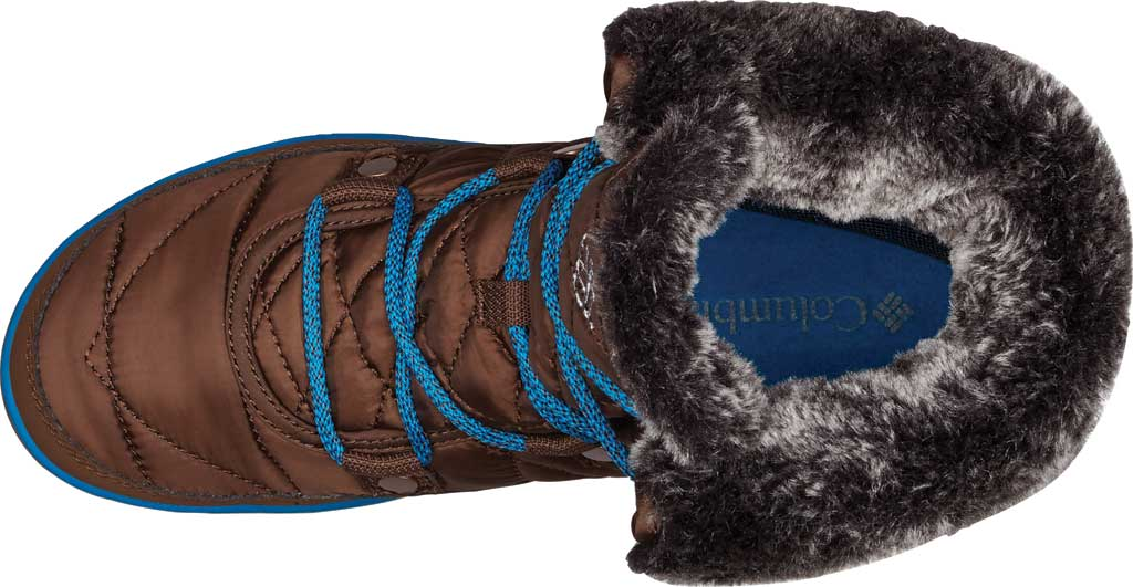 Women's Columbia Heavenly Shorty Omni-Heat Boot, Black/Kettle, large, image 4