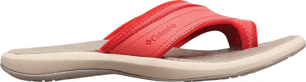 Women's Columbia Kea II Toe Loop Sandal, Red Coral/Cherrybomb, large, image 2