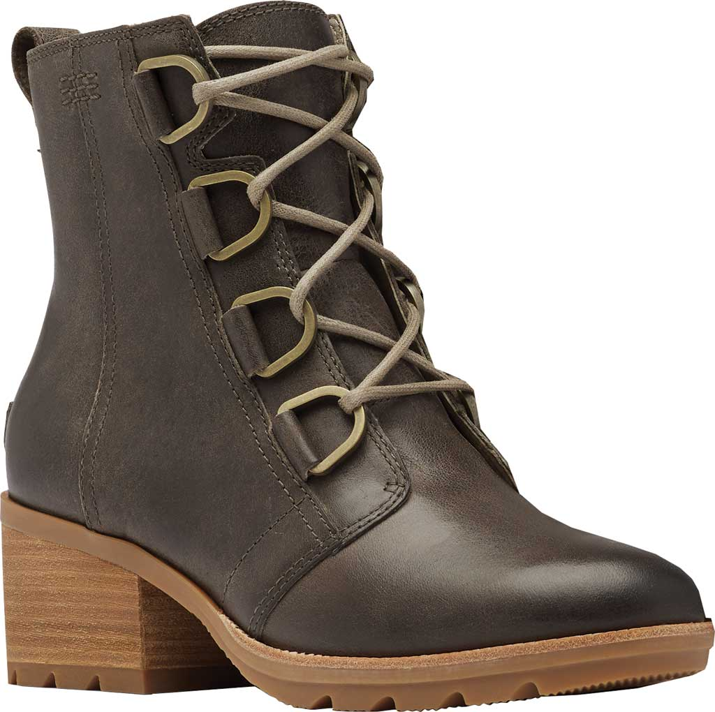 Women's Sorel Cate Lace Up Ankle Bootie, Major Waterproof Full Grain Leather, large, image 1