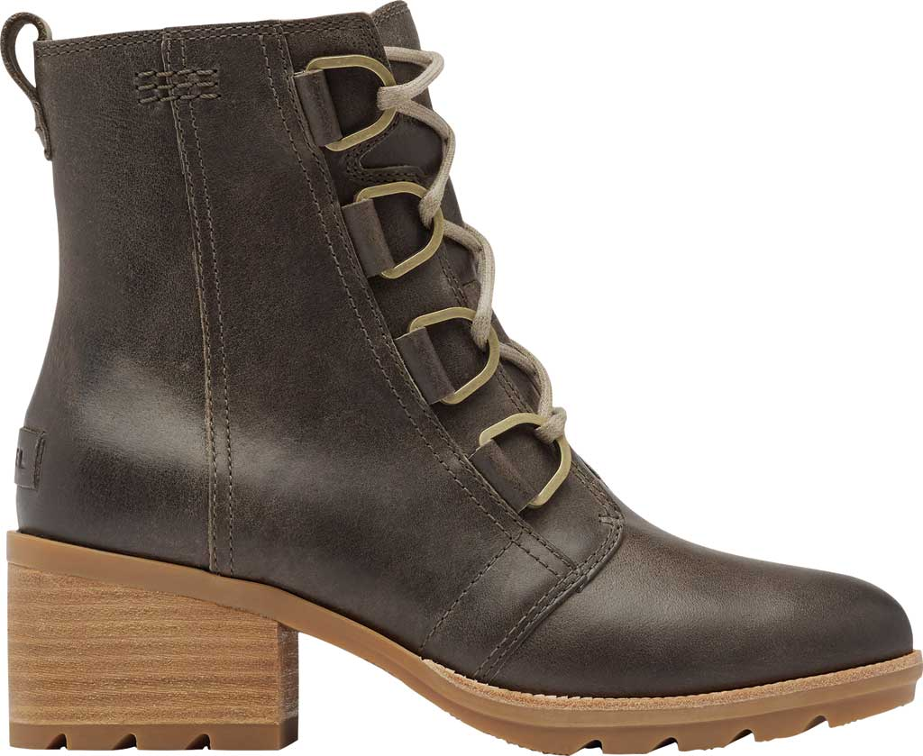 Women's Sorel Cate Lace Up Ankle Bootie, Major Waterproof Full Grain Leather, large, image 2