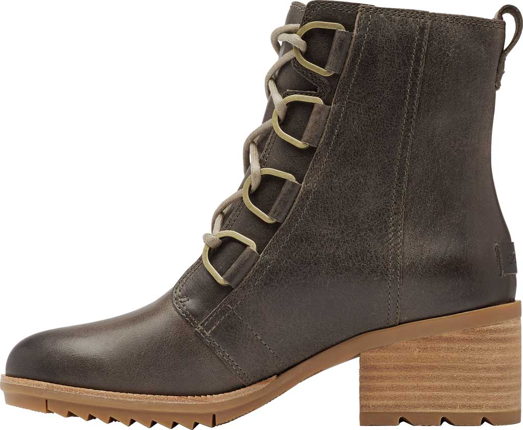 Women's Sorel Cate Lace Up Ankle Bootie, Major Waterproof Full Grain Leather, large, image 3