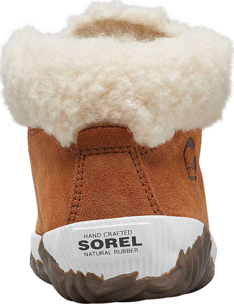 Girls' Sorel Out N About Conquest Waterproof Boot, Camel Brown/Quarry, large, image 4