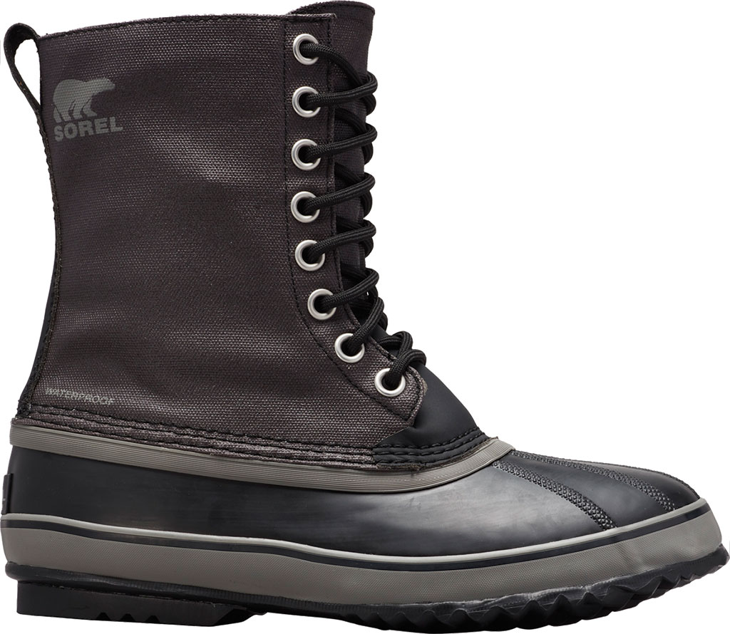 Men's Sorel 1964 CVS Duck Boot, Black/Quarry, large, image 1